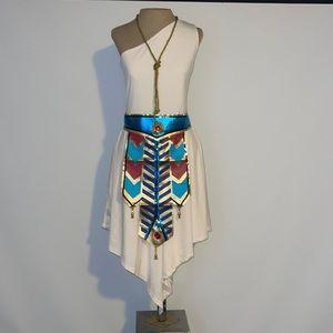 HALLOWEEN / Goddess / Gladiator Dress Halloween Costume.